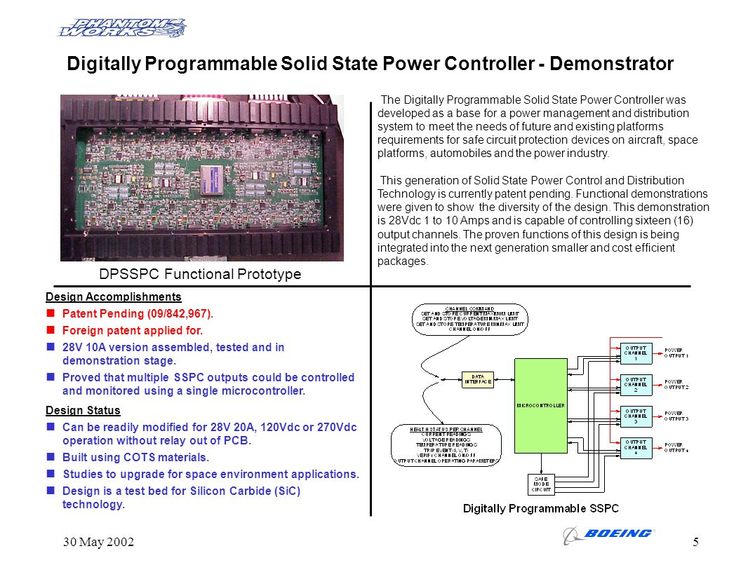 Digitally Programmable Solid State Power Controller - Demonstrator