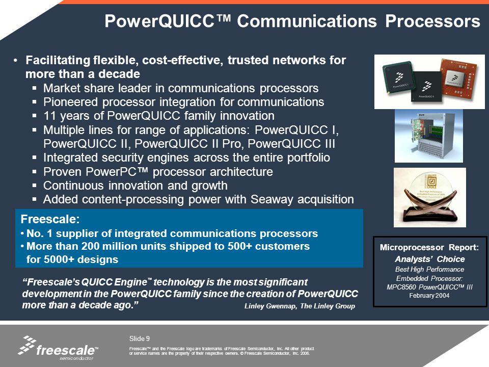 PowerQUICC™ Communications Processors