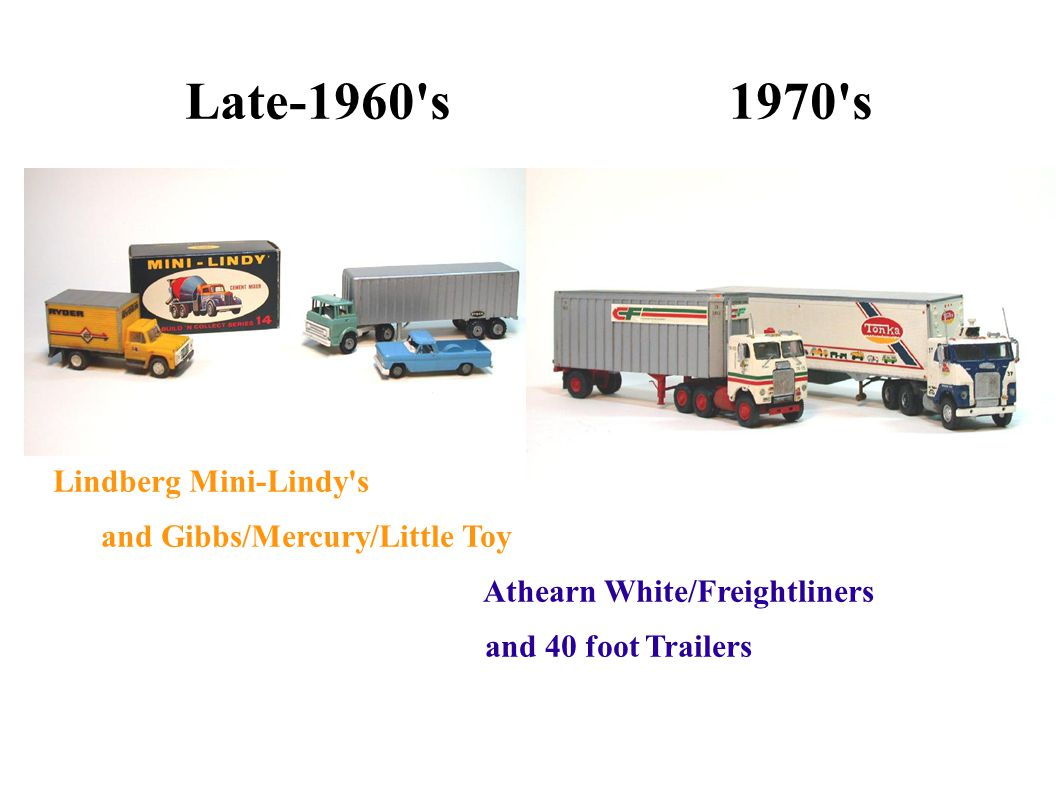 Late-1960 s 1970 s Lindberg Mini-Lindy s and Gibbs/Mercury/Little Toy