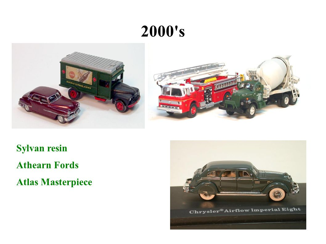 2000 s Sylvan resin Athearn Fords Atlas Masterpiece 31 31 31