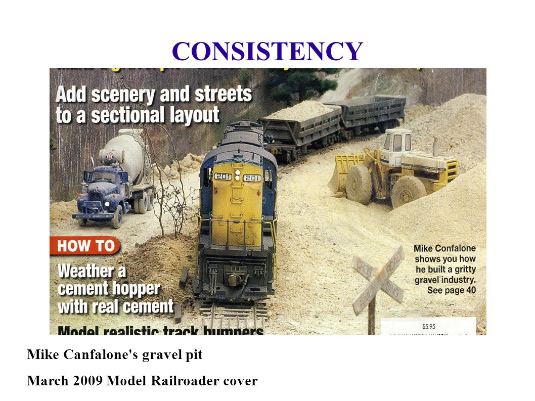 CONSISTENCY Mike Canfalone s gravel pit
