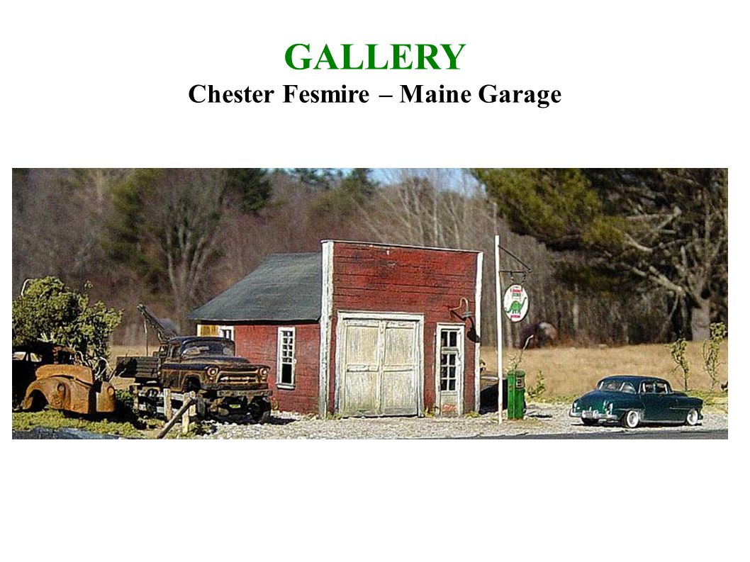 GALLERY Chester Fesmire – Maine Garage