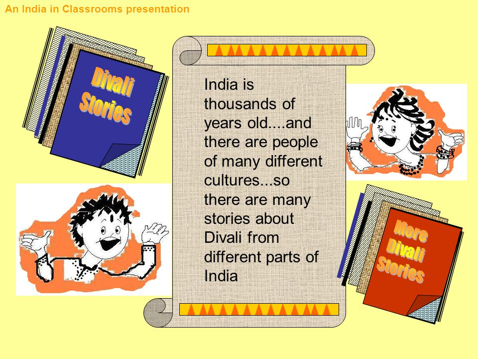 An India in Classrooms presentation