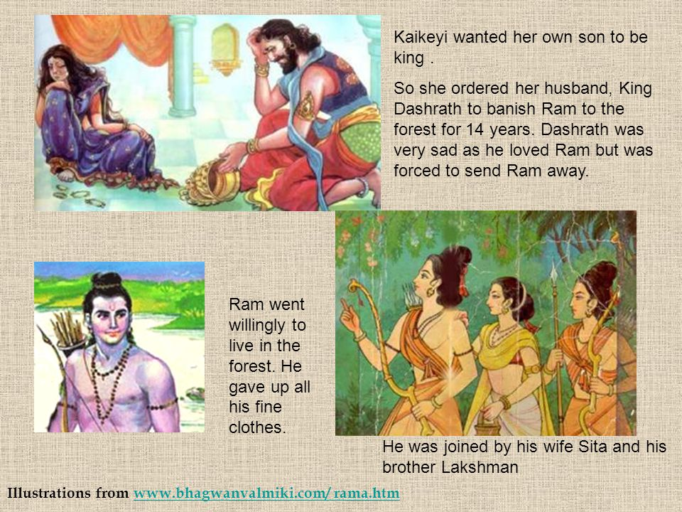 Kaikeyi wanted her own son to be king .