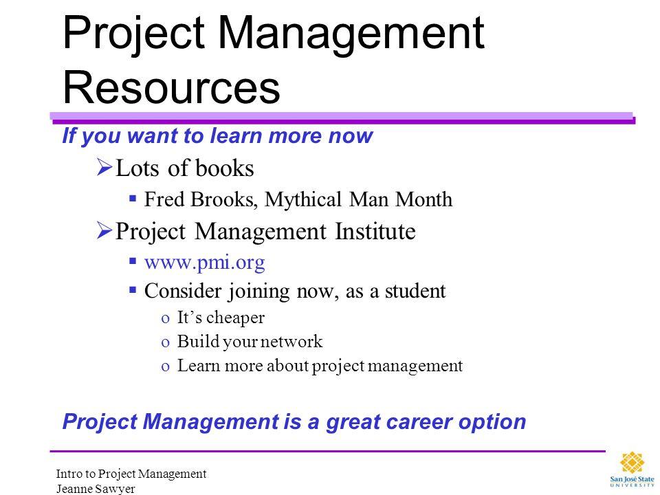 Project Management Resources