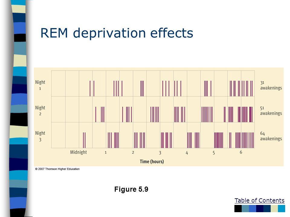 REM deprivation effects