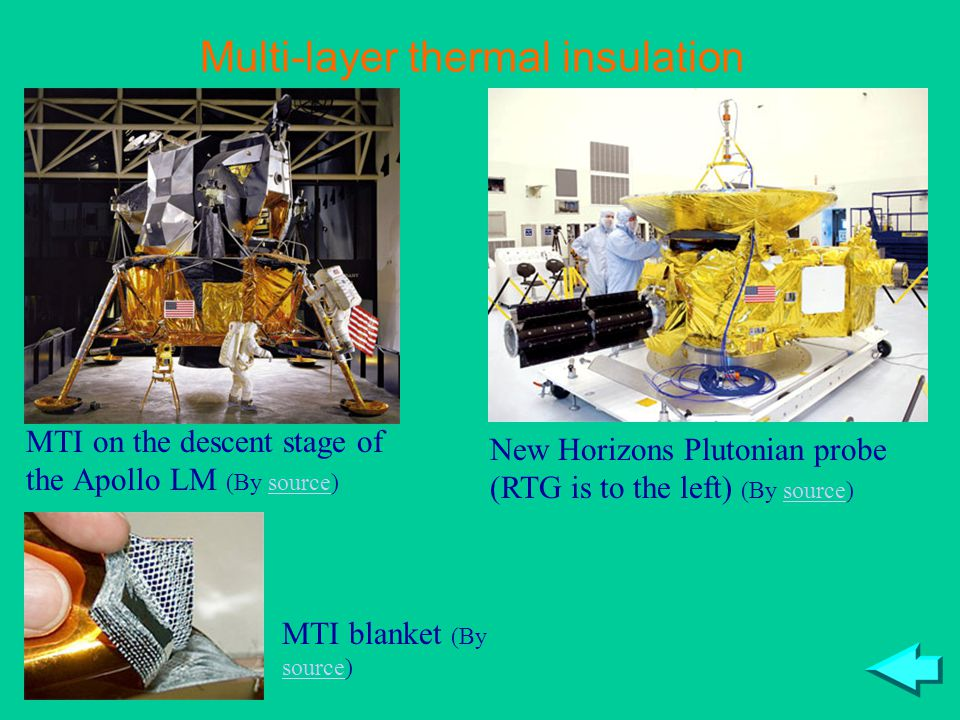 Multi-layer thermal insulation