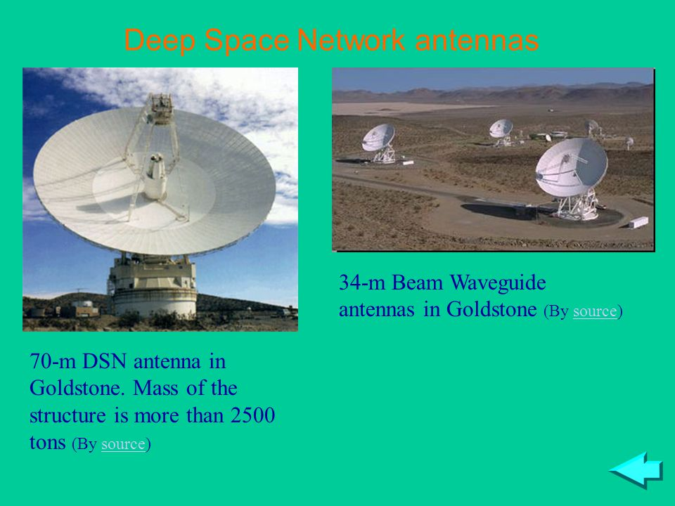 Deep Space Network antennas