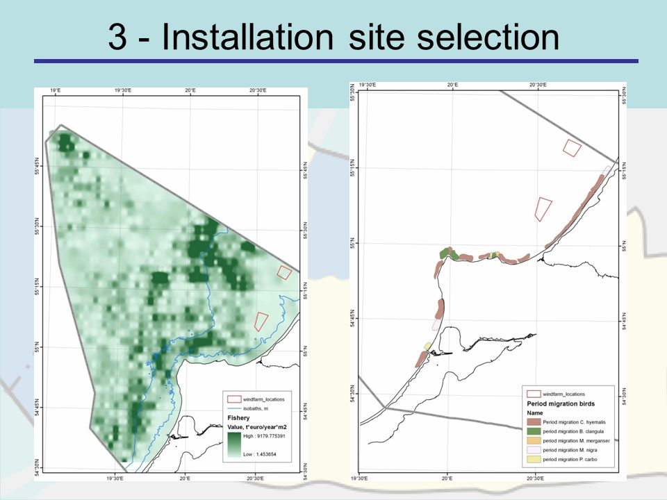 3 - Installation site selection