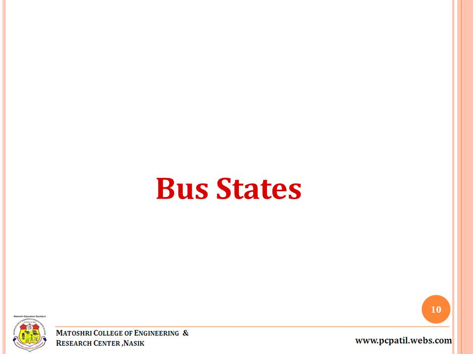 Bus States