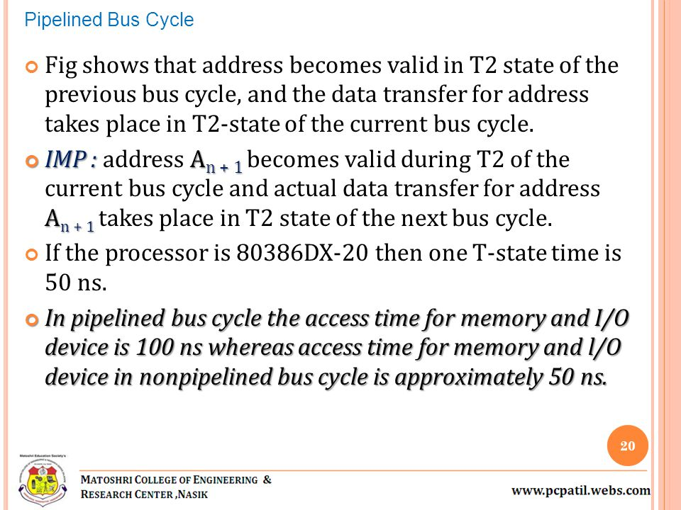 If the processor is 80386DX-20 then one T-state time is 50 ns.