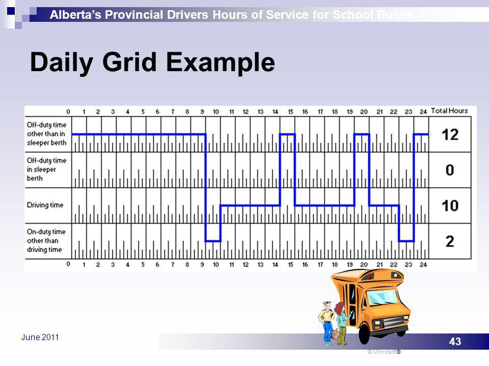 Daily Grid Example © Microsoft®