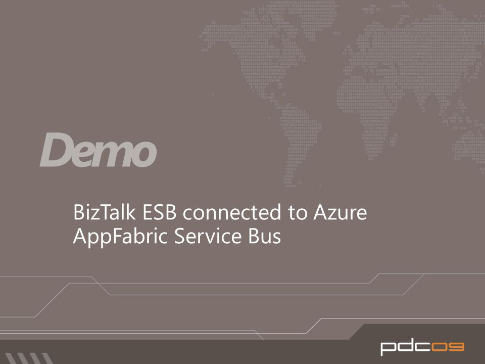 BizTalk ESB connected to Azure AppFabric Service Bus