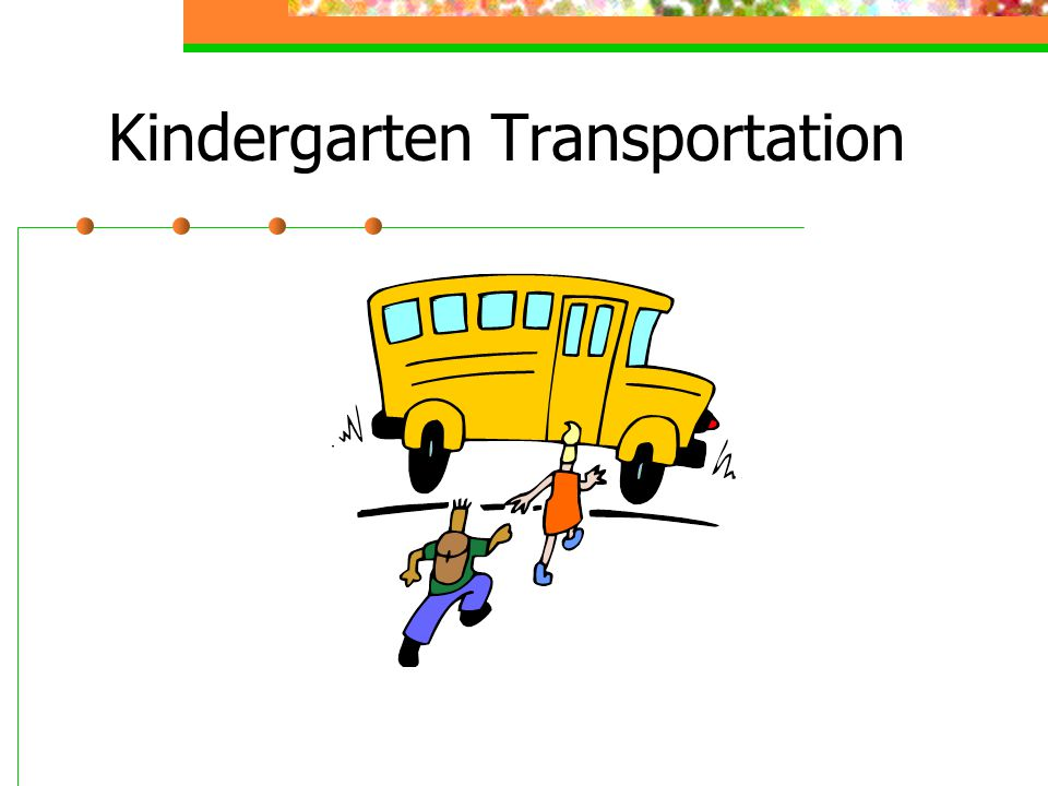 Kindergarten Transportation