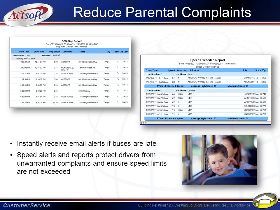 Reduce Parental Complaints