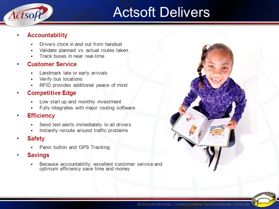Actsoft Delivers Accountability Customer Service Competitive Edge