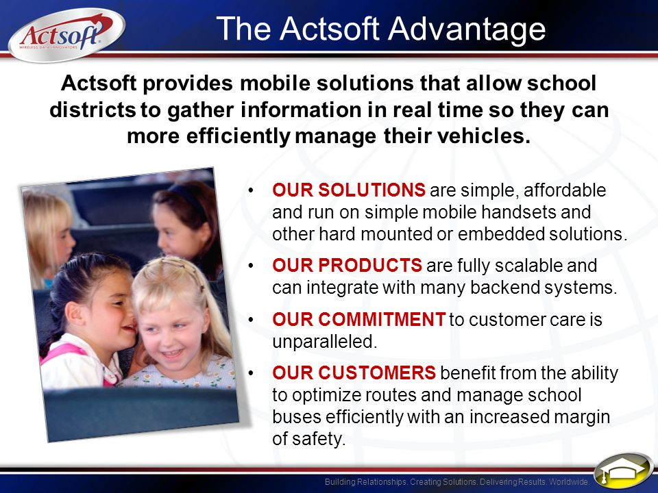 The Actsoft Advantage