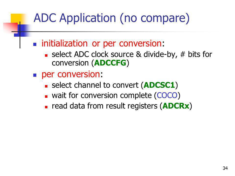 ADC Application (no compare)