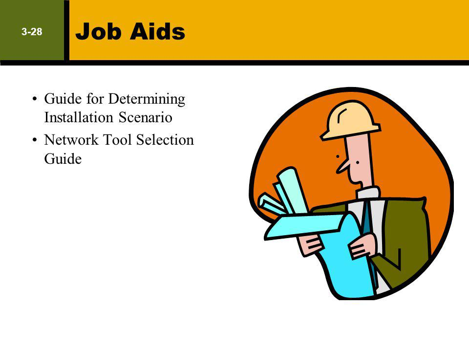 Job Aids Guide for Determining Installation Scenario