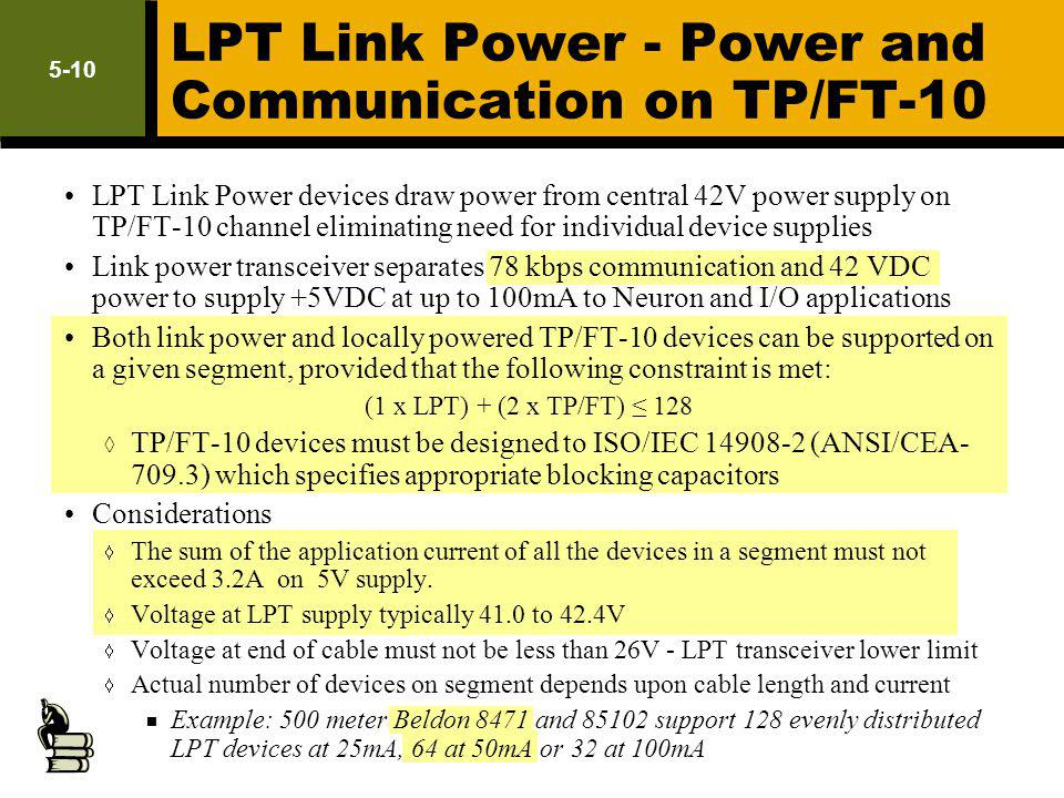LPT Link Power - Power and Communication on TP/FT-10