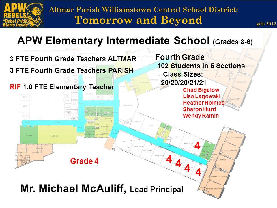 APW Elementary Intermediate School (Grades 3-6)