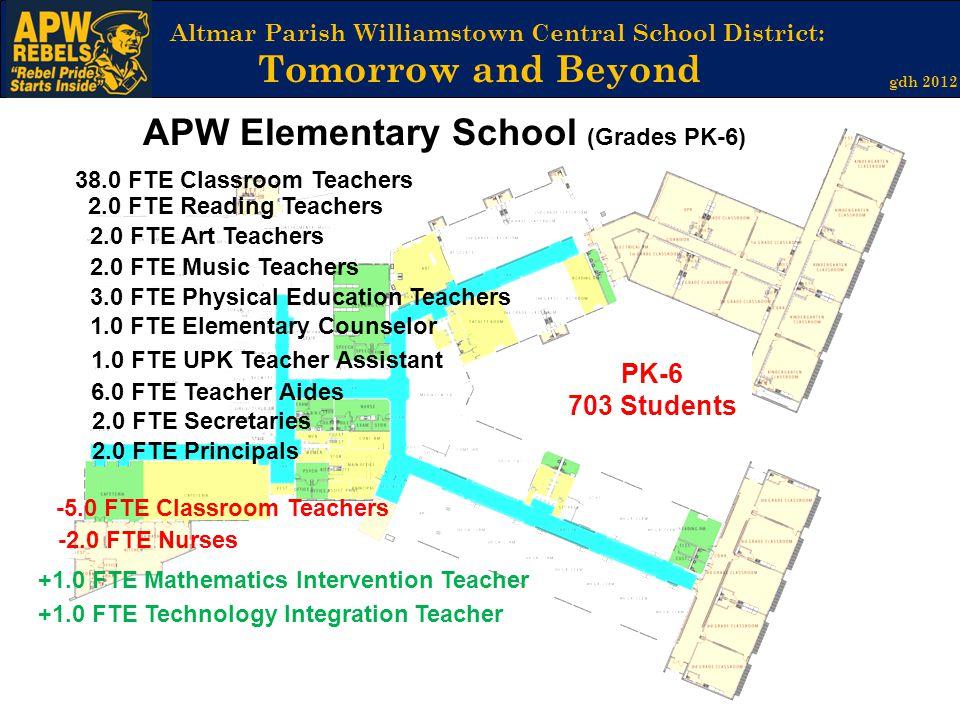 APW Elementary School (Grades PK-6)