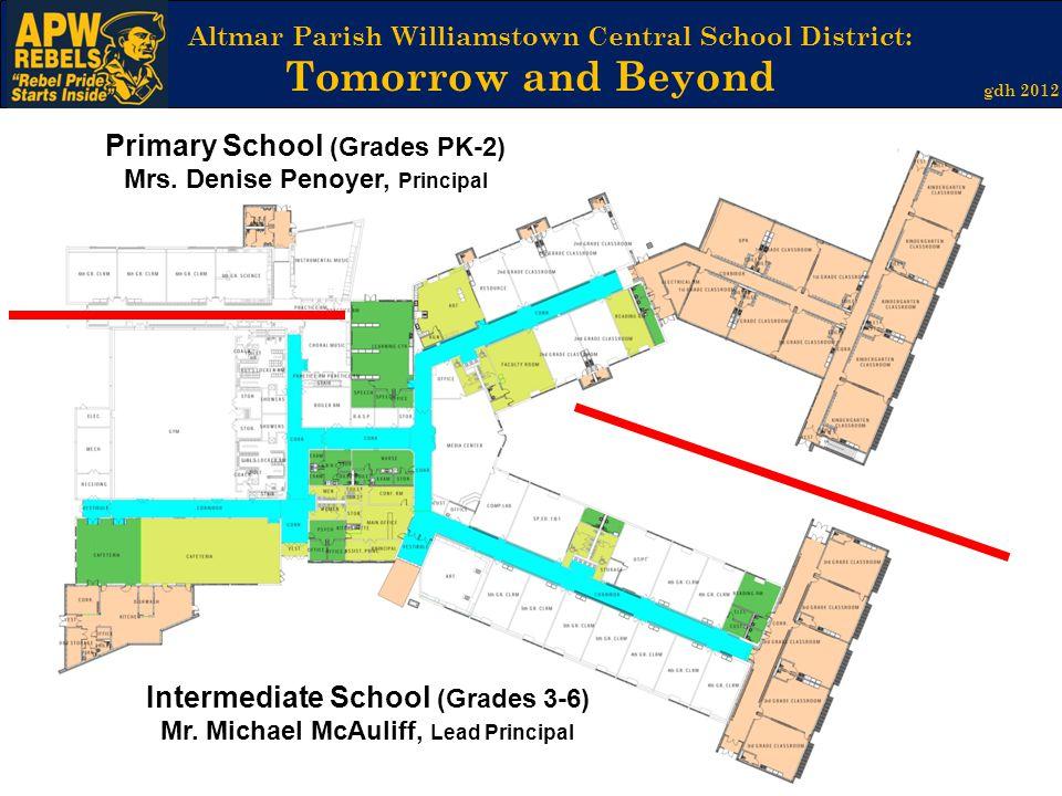 Primary School (Grades PK-2) Mrs. Denise Penoyer, Principal