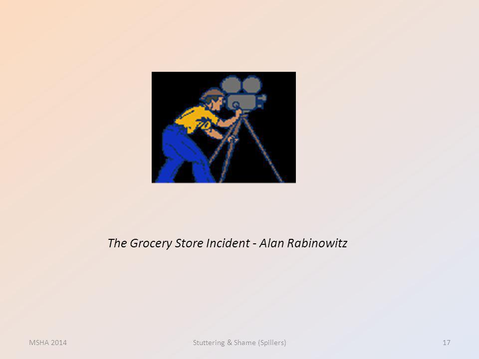 The Grocery Store Incident - Alan Rabinowitz