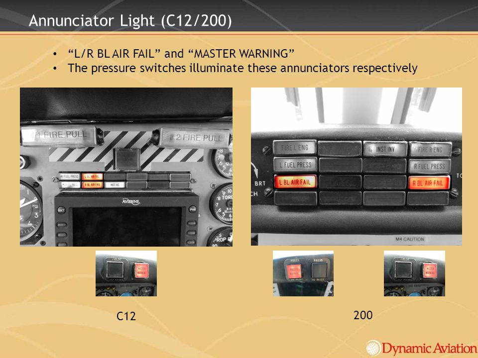 Annunciator Light (C12/200)