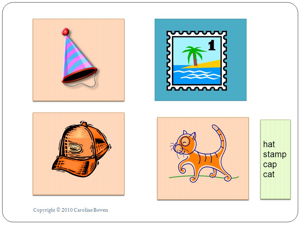 hat stamp cap cat Copyright © 2010 Caroline Bowen