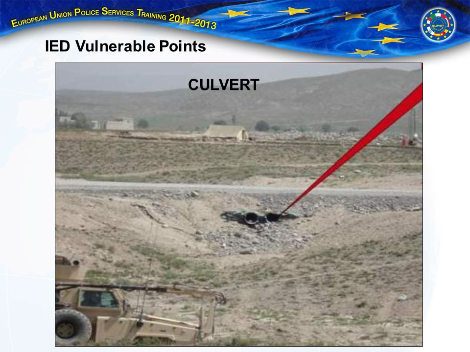 IED Vulnerable Points CULVERT