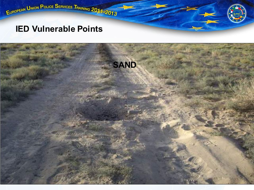 IED Vulnerable Points SAND