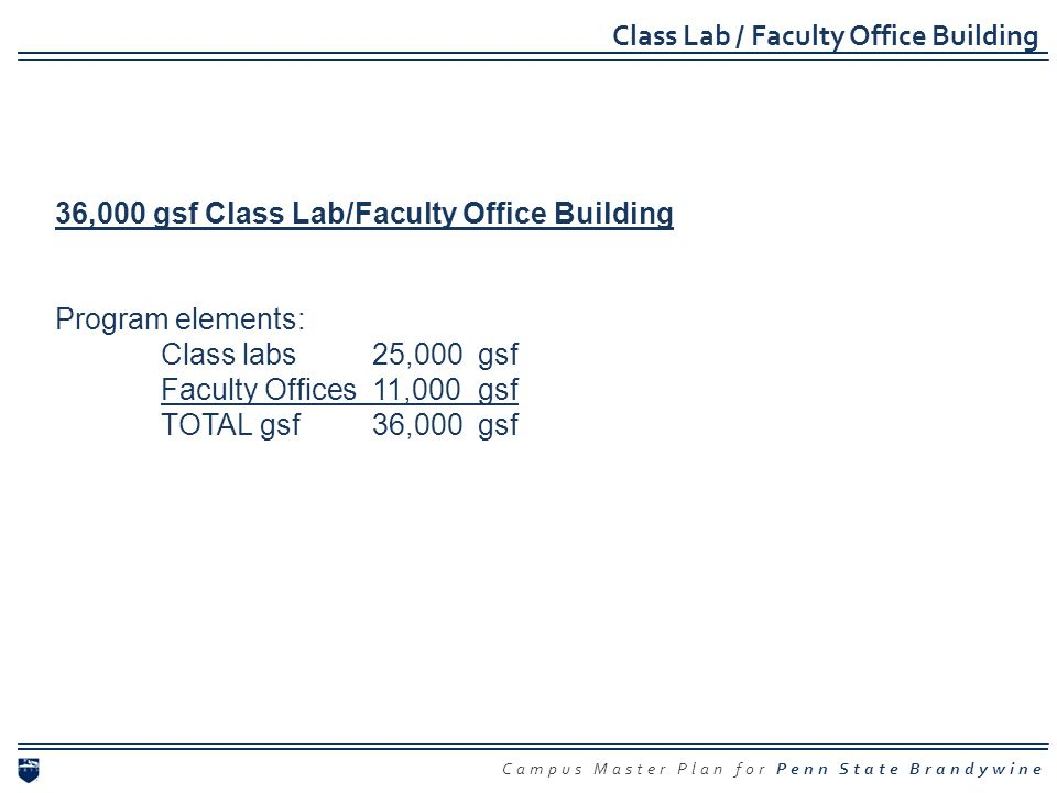 Class Lab / Faculty Office Building