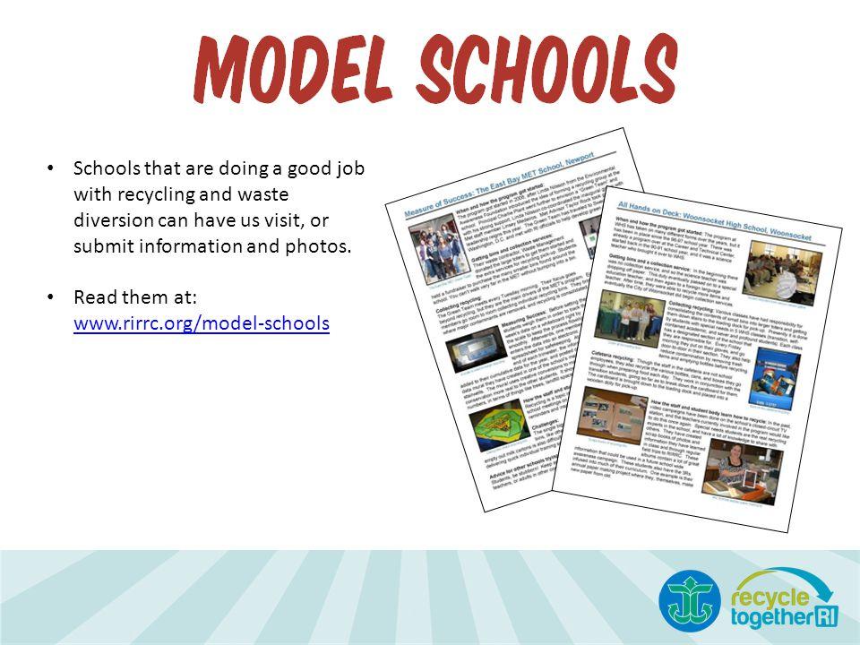 Read them at: www.rirrc.org/model-schools