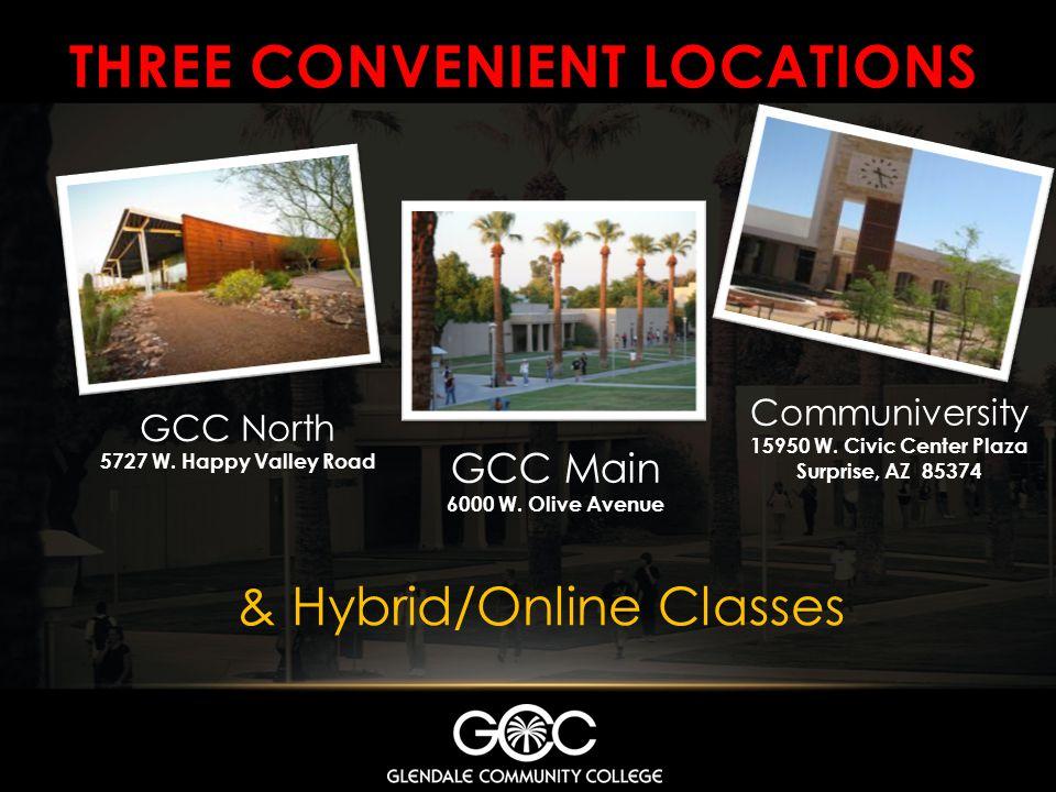 THREE CONVENIENT LOCATIONS