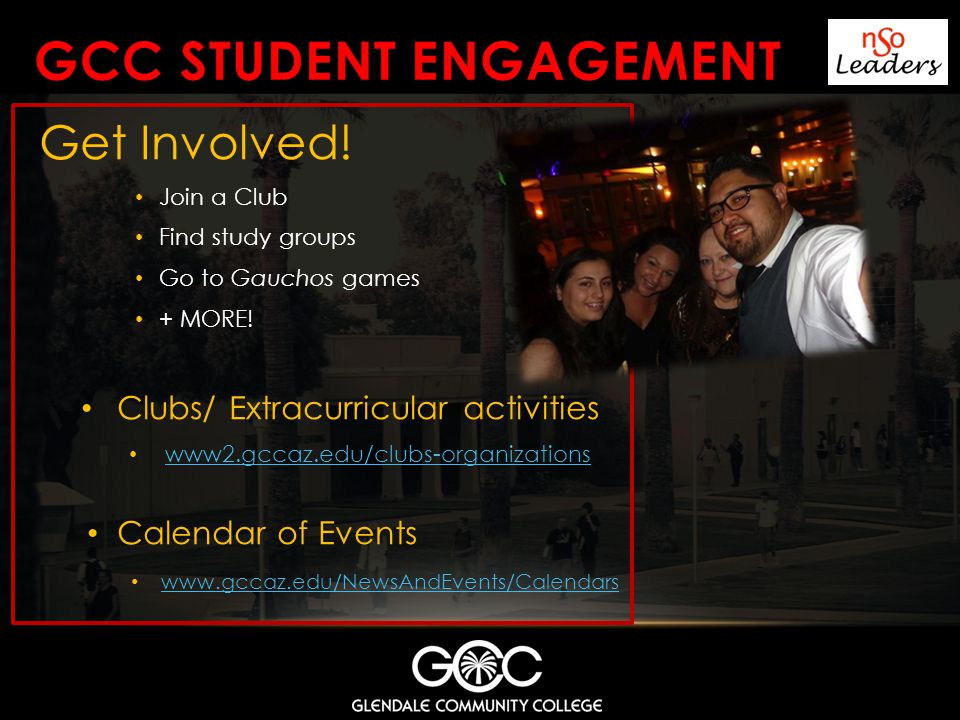 GCC STUDENT ENGAGEMENT