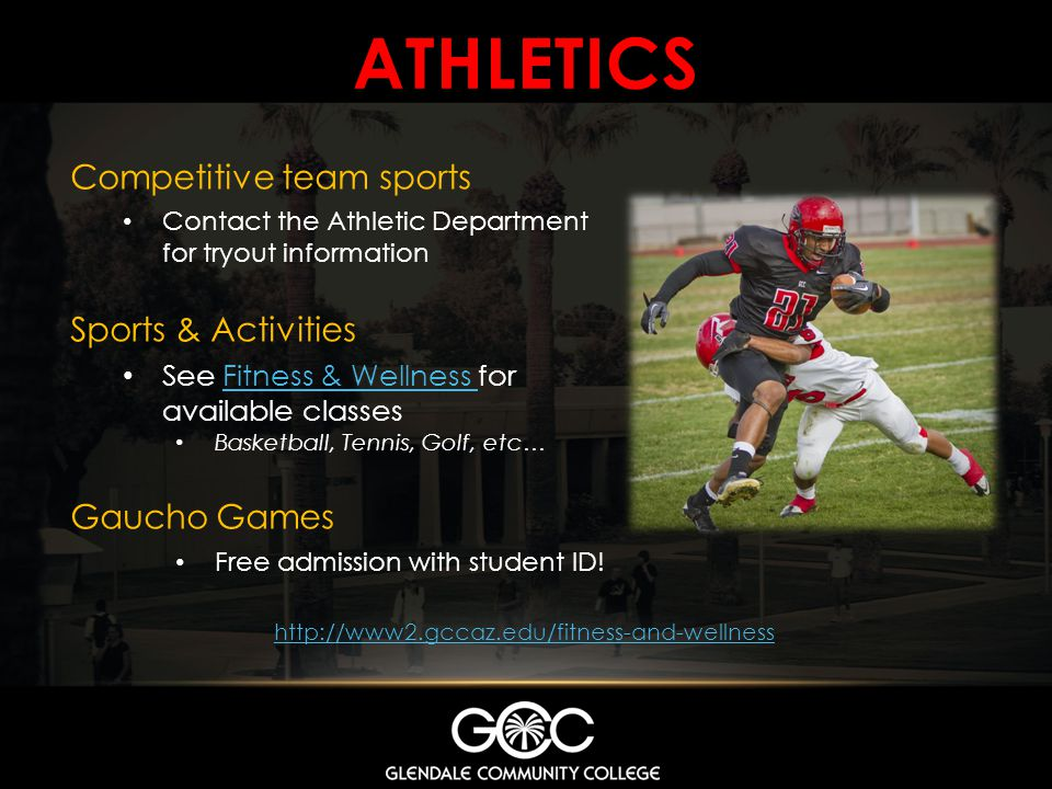 ATHLETICS Competitive team sports Sports & Activities Gaucho Games