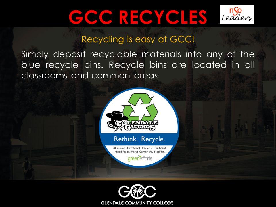GCC recycles