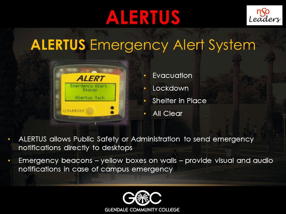 ALERTUS Emergency Alert System