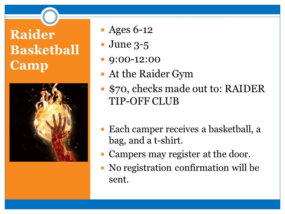 Raider Basketball Camp