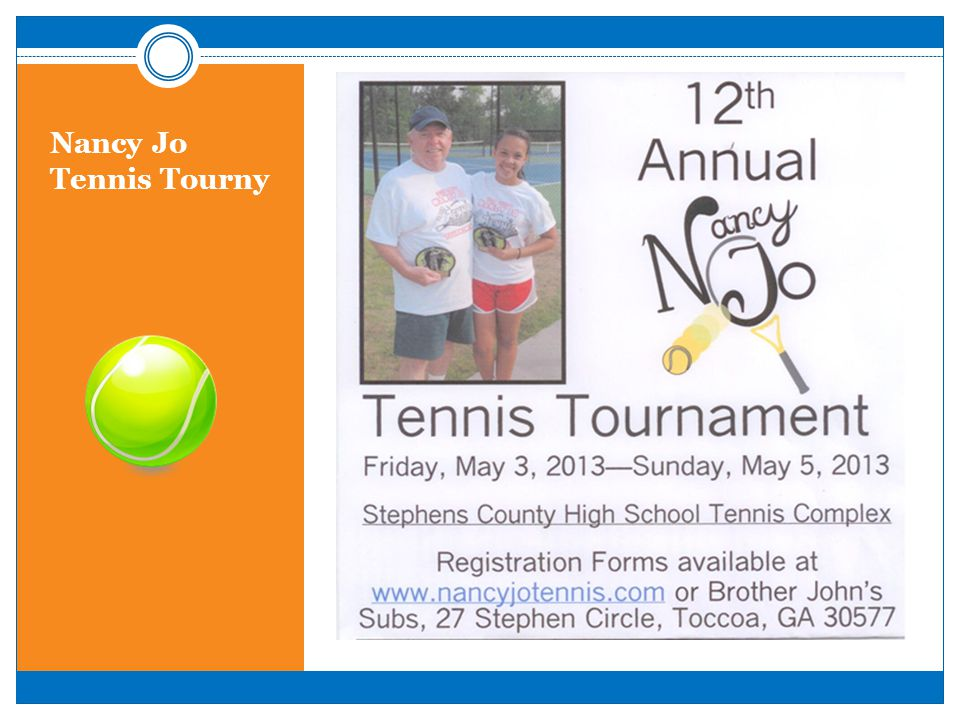Nancy Jo Tennis Tourny
