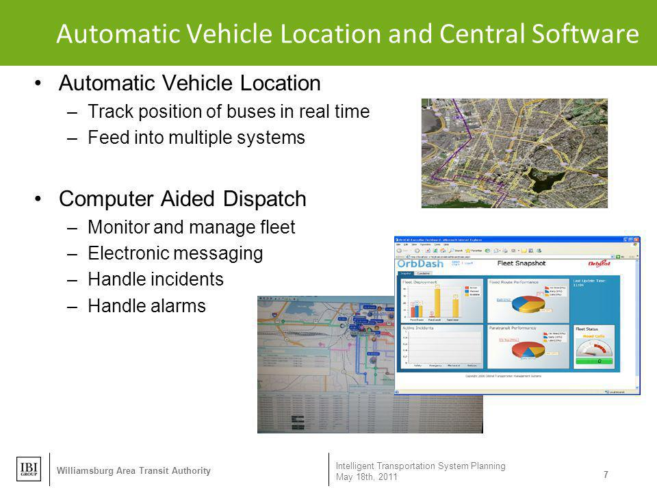 Automatic Vehicle Location and Central Software