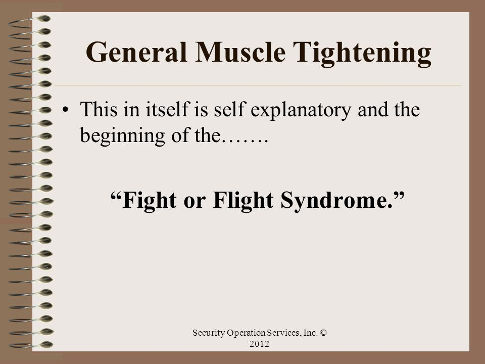 General Muscle Tightening