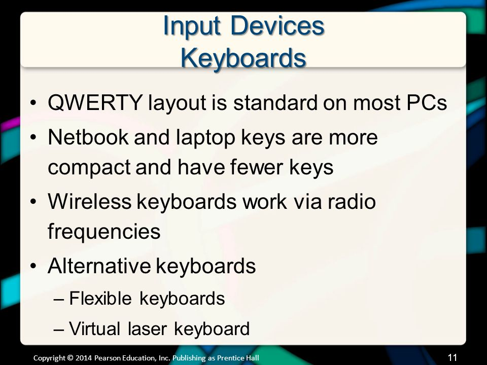 Input Devices Mice and Other Pointing Devices