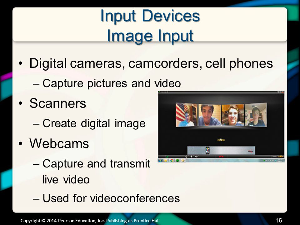 Input Devices Sound Input