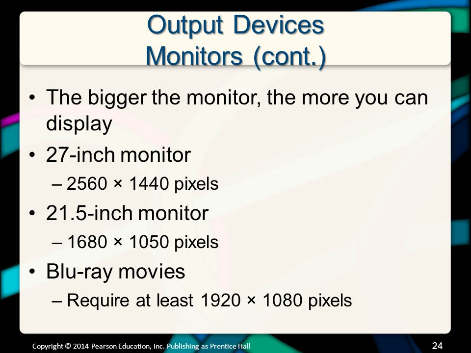 Output Devices Printers