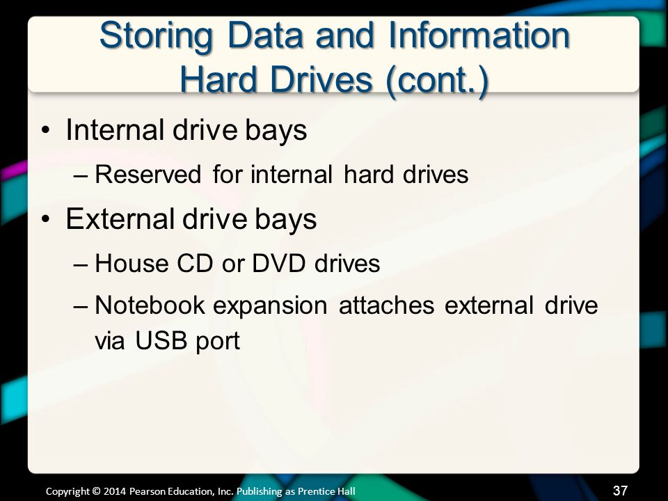 Storing Data and Information Flash Storage
