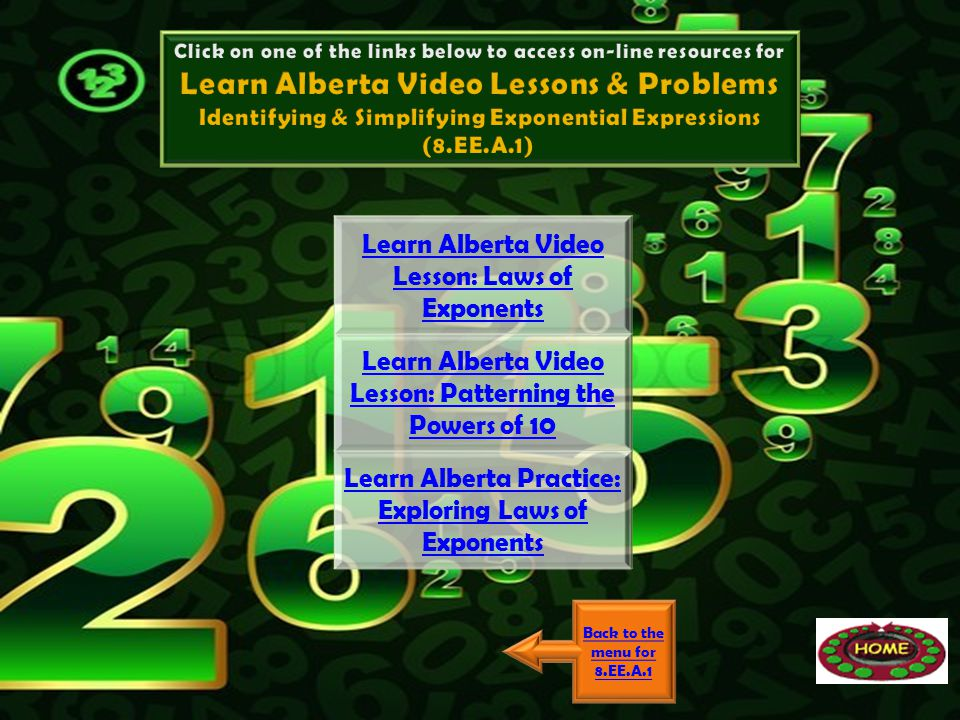 Learn Alberta Video Lessons & Problems