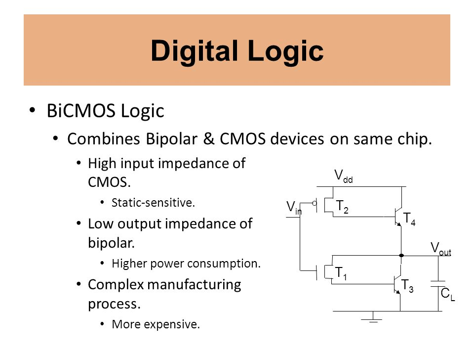 Digital Logic BiCMOS Logic