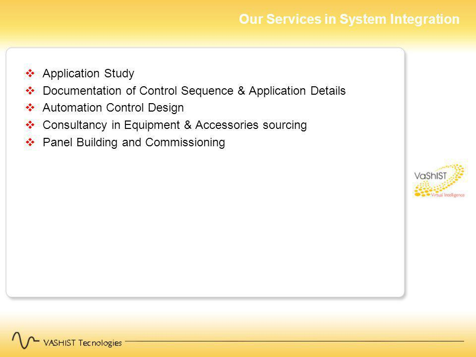 Our Services in System Integration